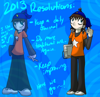 2013 Resolutions by sami86404