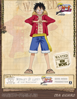 Monkey D. Luffy NEW by Devil by devil-one-naruto