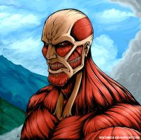 Colossal Titan - Colors by edcomics