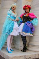 Lolita Frozen Sisters by AngelSamui