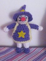 Horror Land Wario Plushie by MadameWario
