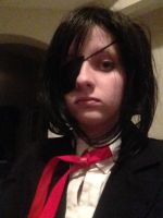 Ciel Bloodhaven cosplay close up by LadyLucario