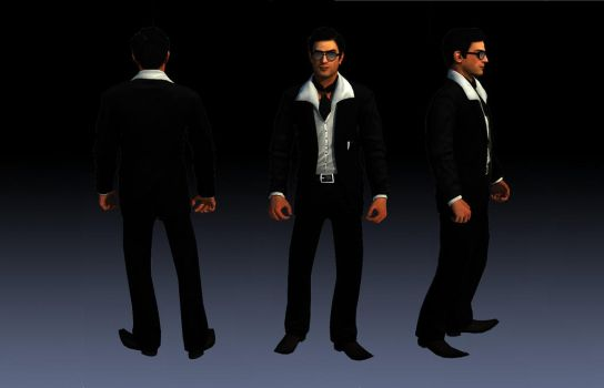 Vito Scaletta Suit 1 From DLC Vegas Skin For SA by Elpadrino1935