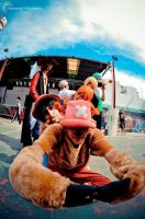 Fisheye Pirates. by Zortegus