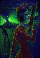 Soviet Zombie Assassin by Cane-force