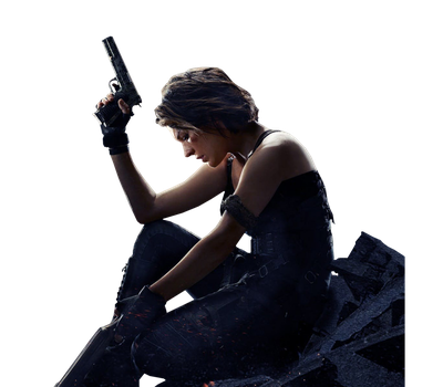 Resident Evil The Final Chapter Poster Render Alic by The-Blacklisted