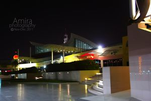 Manar mall at night RAK 2 by amirajuli