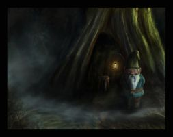 Gnome Home by Such-A-Dreamer
