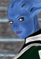 Liara T'soni by Sanctia