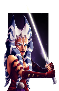 Adult Ahsoka by Varjopihlaja