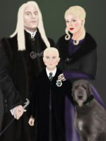 Malfoy family by ZauberiN1313