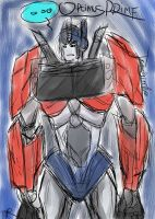 Optimus Prime TFP by Temarigirl1600