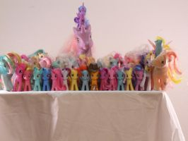 My Little Toys by Flutterflyraptor