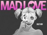 "Harley Quinn ""MAD LOVE"" Wallpaper [1024x by papatom"