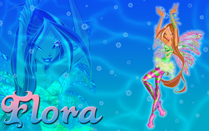 Flora Sirenix Wallpaper by Supremechaos918