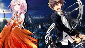 Guilty Crown (Inori and Shu) by AbyVanEnvurio