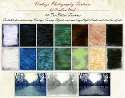 Vintage Photography Textures Pack by XiuLanStock