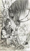 Wander and Agro by duastre