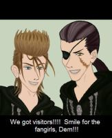 Smile for the Fangirls, Dem by gttorres