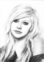In progress.. Avril (12) [Drawing] by DesignerMF