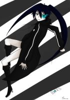 Black Rock Shooter by HimeNeko13