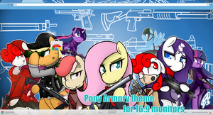 Pony Armory for Google Chrome 16:9 by PPDraw
