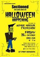 Sectioned - Halloween Flyer 07 by steeyre