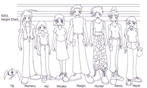 SOUL Height Chart by keifujimi