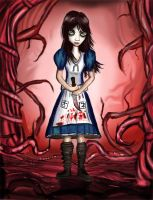 Alice Madness returns fanart by TheSlinker