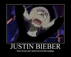 justin beiber crona by KawaiiSoulEater