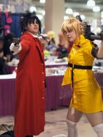 Alucard and Seras by RathCosplay