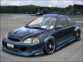 ACdesign 1998 Honda Civic by AC-design