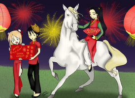 Happy Fabulous New Year! by shinjuco