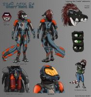 Leaving The Cradle charsheets: Gharr by darth-biomech