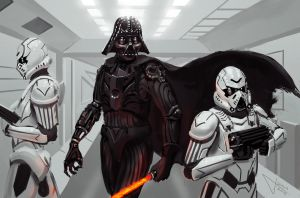 Darth Vader redesign by guang2222