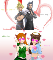 yes i am sexy by KingdomHeartsNickey