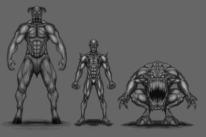 Doom Monsters 1 by deimocrates