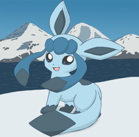 Glaceon Chibified by pichu90