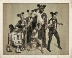 Star Wars - Disney/Lucasfilm by PaulShipper