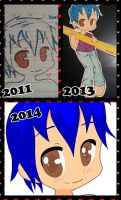 Dark over the years! by kibagirl135