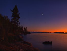 Memorial Point sunset by MartinGollery