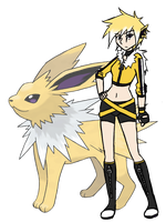 Levina the Jolteon by Lexial-XIII