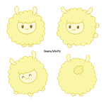 Fluffy Sheep by Daieny
