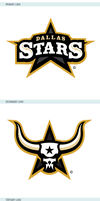Dallas Stars Logos by matthiason