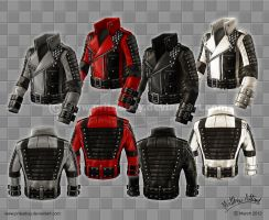 Rockstar Jacket - Colour Variations by priteeboy