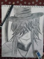 Undertaker from Black Butler! by deathday1087