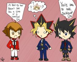 YGO: Hair Insults by SakiRee