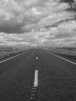 The Road Home - BlackandWhite by NAUX