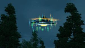 Sims 3 Flying Saucer by Cassini90125