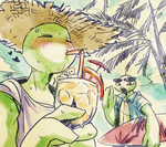 tropical drink by tabe103